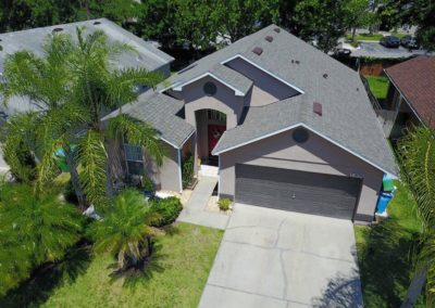 New Roof on Home in Orlando, Florida
